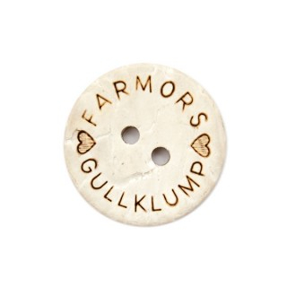 Knapp Farmors Gullklump 18mm