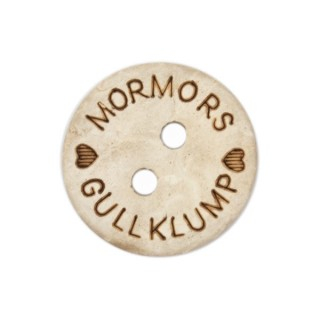 Knapp Mormors Gullklump 15mm