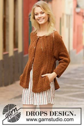 202-14 Autumn spice cardigan