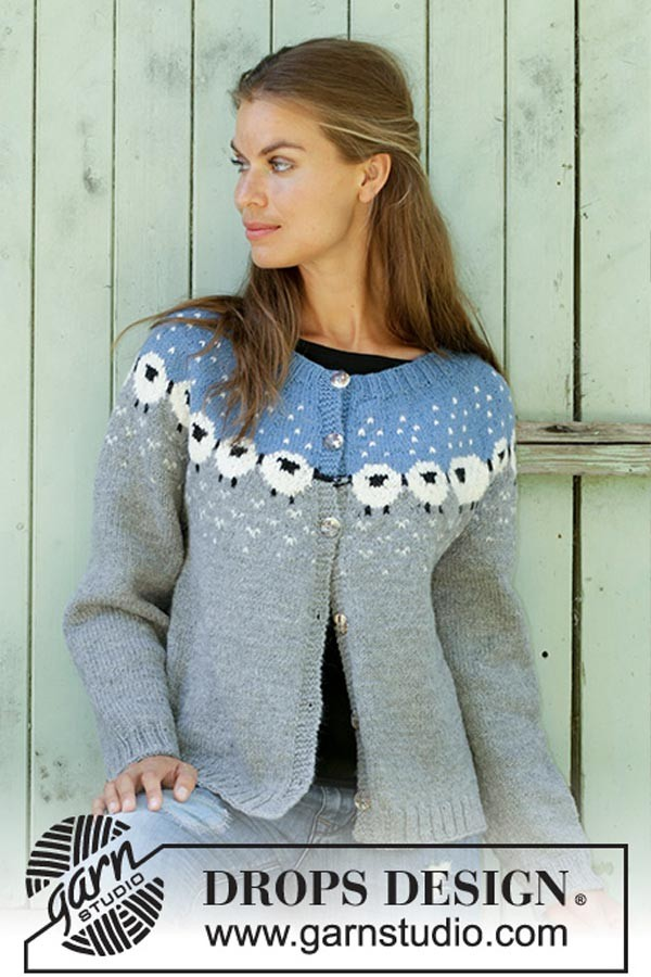 Sheep happens cardigan